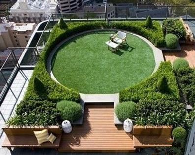 屋顶绿化中佛甲草有哪些应用?