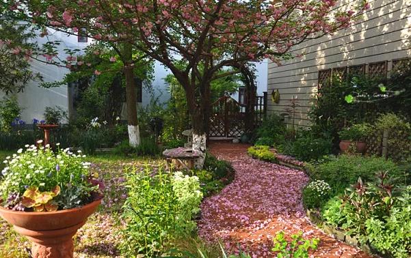 别墅私家花园,郑州绿色大地,郑州别墅庭院设计