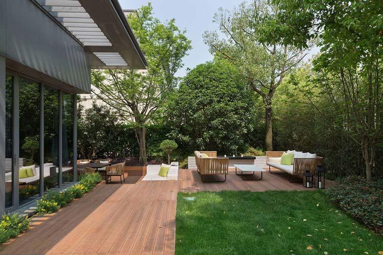 别墅花园花架设计和常见花架类型